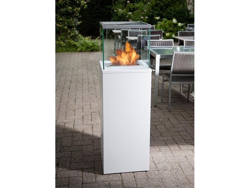 bio blaze outdoor column luxus kamin weiss 878 00 feuer. Black Bedroom Furniture Sets. Home Design Ideas